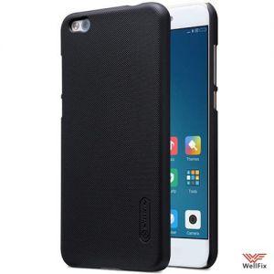 Изображение Пластиковый чехол для Xiaomi Mi5c черный (Nillkin)