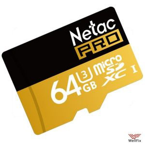 Изображение Карта памяти 64GB Netac P500