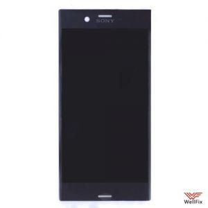 Изображение Дисплей для Sony Xperia XZ в сборе черный