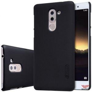 Изображение Пластиковый чехол для Huawei Honor 6X черный (Nillkin)