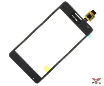 Изображение Тачскрин Sony Xperia E1 черный