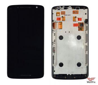 Дисплей Motorola Moto X Play (xt1561/xt1562/xt1563) с тачскрином черный