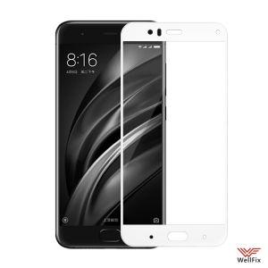 Изображение Защитное 3D стекло для Xiaomi Mi6 белое