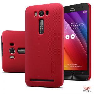 Чехол Asus Zenfone 2 Laser ZE500KL красный (Nillkin, пластик)