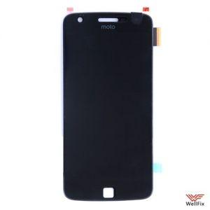 Дисплей Motorola Moto Z Play с тачскрином черный