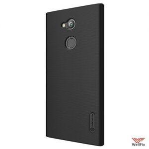 Изображение Пластиковый чехол для Sony Xperia XA2 Ultra черный (Nillkin)