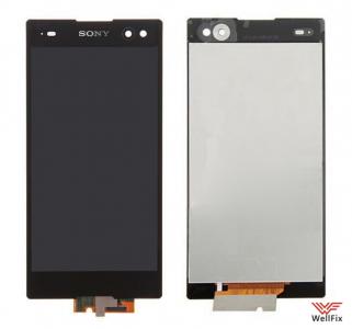 Дисплей Sony Xperia C3 D2533 с тачскрином черный