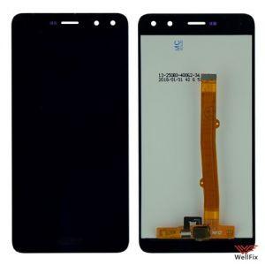 Изображение Дисплей для Huawei Y6 (2017) в сборе черный