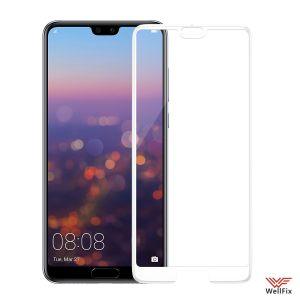 Изображение Защитное 5D стекло для Huawei P20 Pro белое