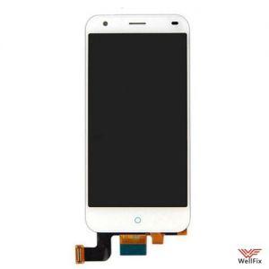 Дисплей ZTE Blade S6 с тачскрином белый