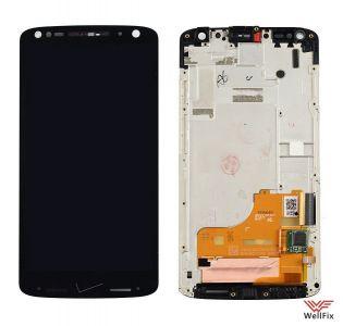 Дисплей Motorola Moto X Force (xt1585/xt1580) с тачскрином черный
