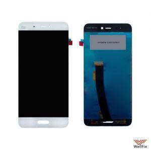 Дисплей Xiaomi Mi5 с тачскрином белый