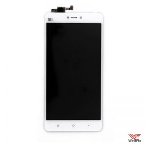 Изображение Дисплей Xiaomi Mi4S в сборе белый
