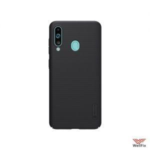 Изображение Пластиковый чехол для Samsung Galaxy A60 SM-A606F черный (Nillkin)