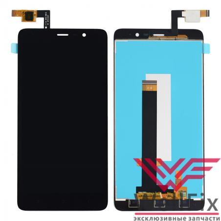Дисплей Xiaomi Redmi Note 3 с тачскрином черный