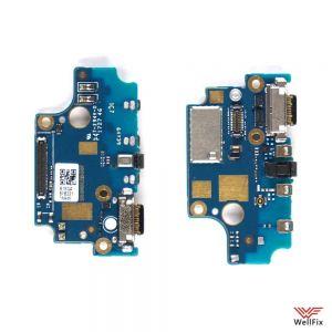 Изображение Шлейф для Nokia 8 на разъем зарядки / микрофон (оригинал)