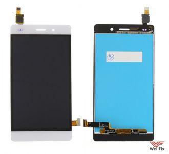 Дисплей Huawei P8 Lite с тачскрином белый