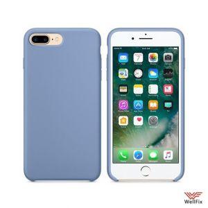 Изображение Силиконовый чехол для iPhone 7 Plus/8 Plus голубой