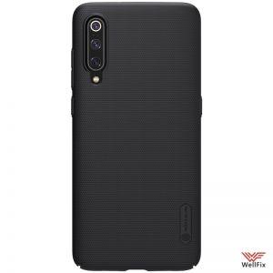 Изображение Пластиковый чехол для Xiaomi Mi9 SE черный (Nillkin)
