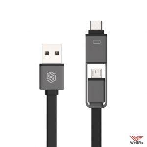 Изображение Кабель 2в1 micro USB и Type-C / USB Nillkin Plus