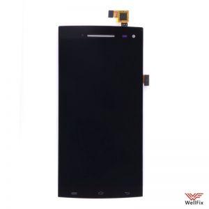 Дисплей Elephone G6 с тачскрином черный