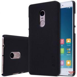 Изображение Пластиковый чехол для Xiaomi Redmi 4 черный (Nillkin)