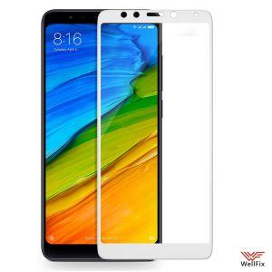 Изображение Защитное 3D стекло для Xiaomi Redmi 5 белое