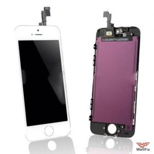 Дисплей Apple iPhone 5s с тачскрином белый