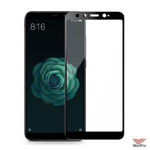 Изображение Защитное 3D стекло для Xiaomi Mi A2 / 6x черное