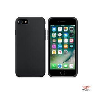 Изображение Силиконовый чехол для iPhone 7 Plus/8 Plus черный