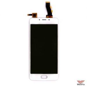 Изображение Дисплей для Meizu U10 в сборе белый