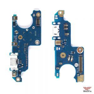 Изображение Шлейф для Nokia 6 на разъем зарядки / микрофон (оригинал)