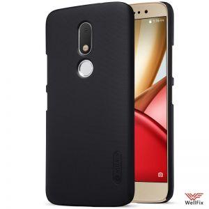 Изображение Пластиковый чехол для Motorola Moto M черный (Nillkin)