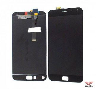 Дисплей Meizu MX4 Pro с тачскрином черный