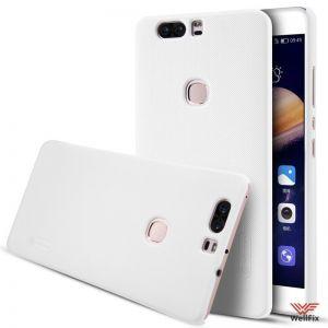 Изображение Пластиковый чехол для Huawei Honor V8 белый (Nillkin)