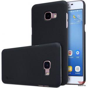 Изображение Пластиковый чехол для Samsung Galaxy C5 SM-C5000 черный (Nillkin)