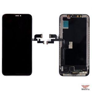 Изображение Дисплей Apple iPhone X (OLED) в сборе черный