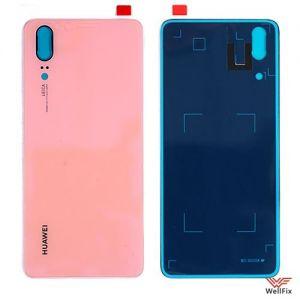 Изображение Задняя крышка для Huawei P20 розовая
