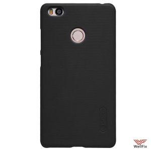 Чехол Xiaomi Mi4S черный (Nillkin, пластик)