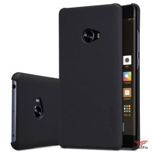 Изображение Пластиковый чехол для Xiaomi Mi Note 2 черный (Nillkin)