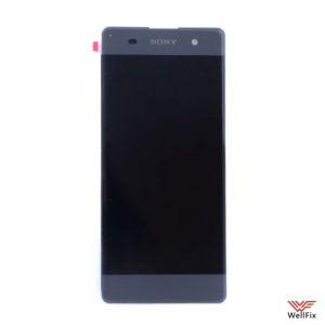 Изображение Дисплей Sony Xperia XA (F3112) в сборе черный