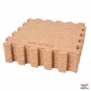 Изображение Коврик-пазл Xiaomi Natural Cork Mosaic Mats