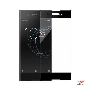 Изображение Защитное 5D стекло для Sony Xperia XA1 (G3116) черное
