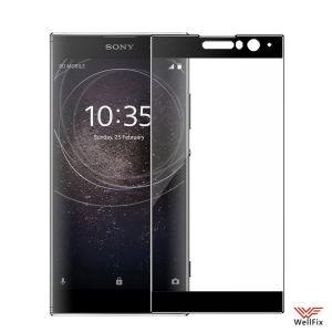 Изображение Защитное 5D стекло для Sony Xperia XA2 черное