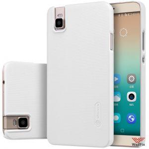 Изображение Пластиковый чехол для Huawei Honor 7 белый (Nillkin)