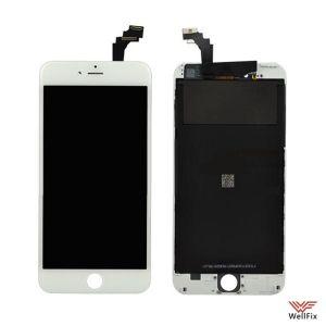 Дисплей Apple iPhone 6 Plus с тачскрином белый