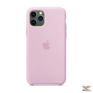 Изображение Силиконовый чехол для iPhone 11 розовый