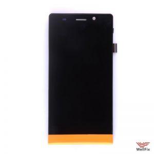 Дисплей Highscreen Thor с тачскрином оранжевый