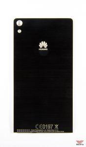Крышка аккумулятора Huawei Ascend P6 черная