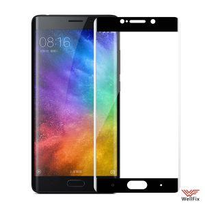 Изображение Защитное 5D стекло для Xiaomi Mi Note 2 черное